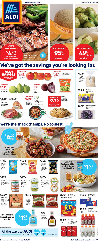 ALDI Weekly Ad Circular - valid 03/17-03/23/2021