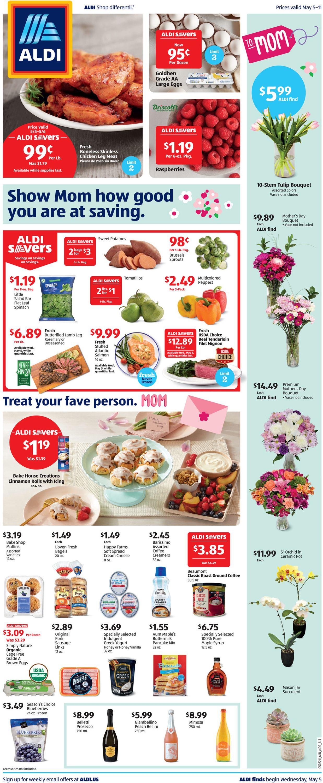ALDI Weekly Ad Circular - valid 05/05-05/11/2021