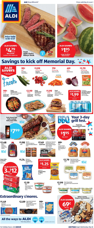 ALDI Weekly Ad Circular - valid 05/26-06/01/2021