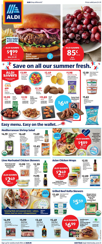 ALDI Weekly Ad Circular - valid 06/23-06/29/2021