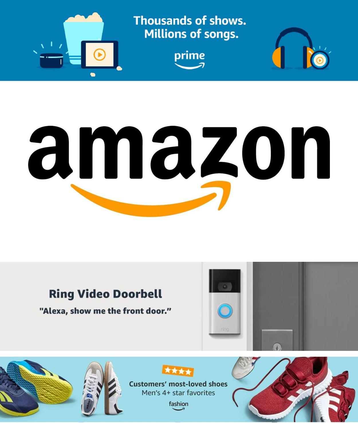 Amazon Weekly Ad Circular - valid 02/18-02/24/2021