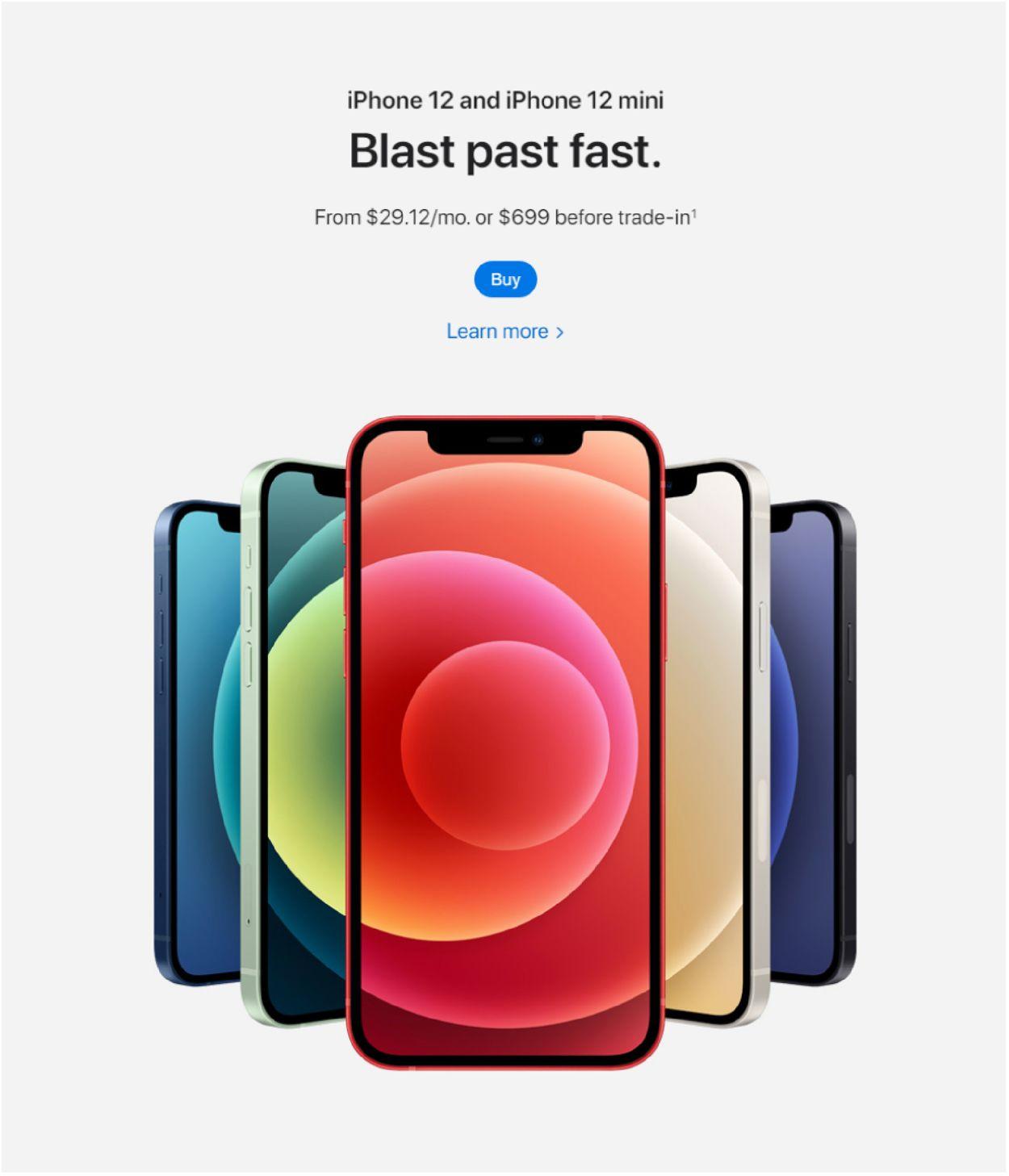 Apple Weekly Ad Circular - valid 01/22-01/28/2021