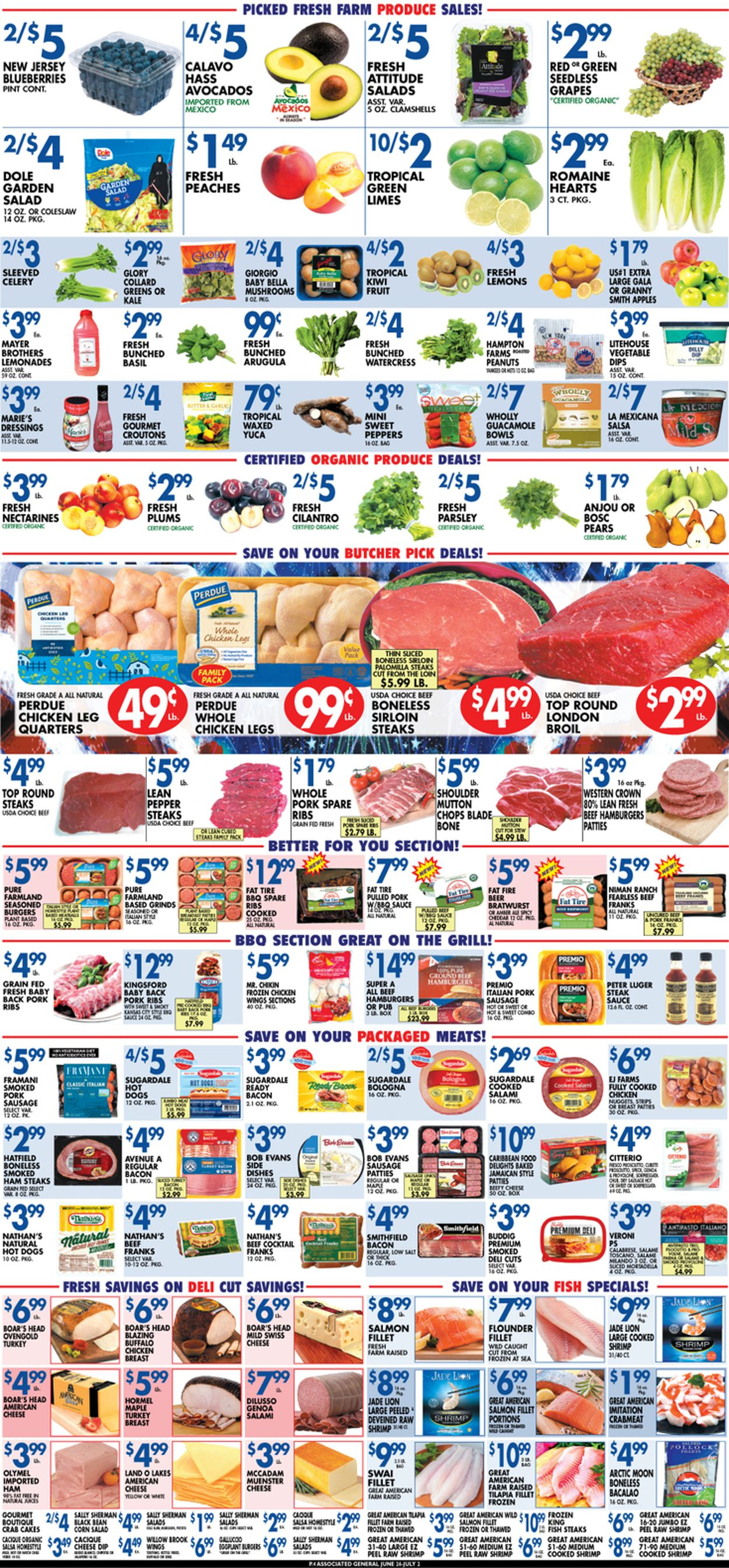 Associated Supermarkets Weekly Ad Circular - valid 06/26-07/03/2020 (Page 4)