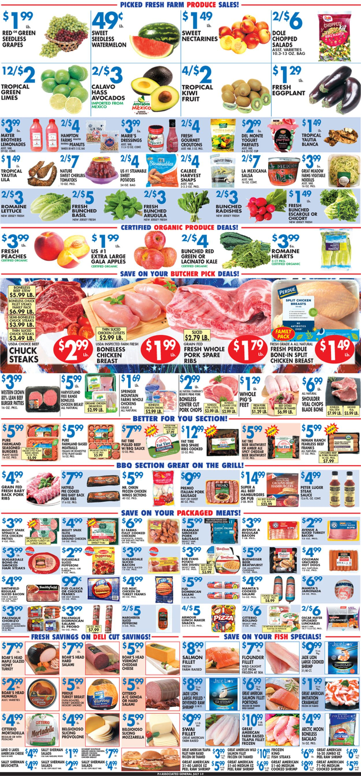 Associated Supermarkets Weekly Ad Circular - valid 07/03-07/09/2020 (Page 4)