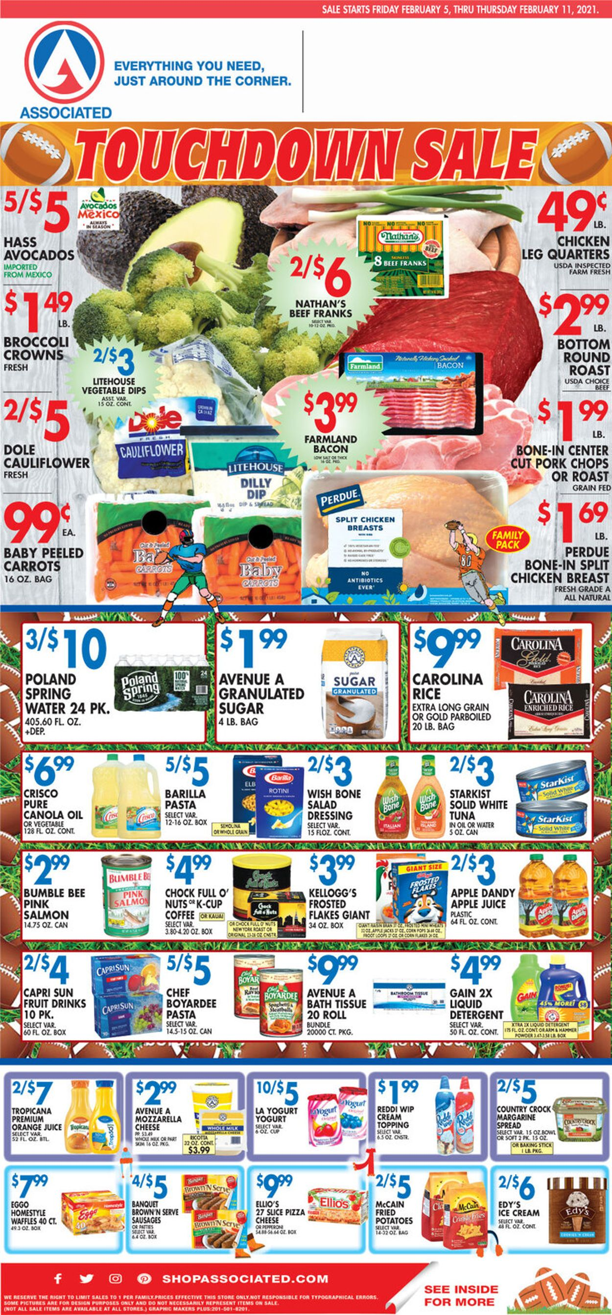 Associated Supermarkets Weekly Ad Circular - valid 02/05-02/11/2021