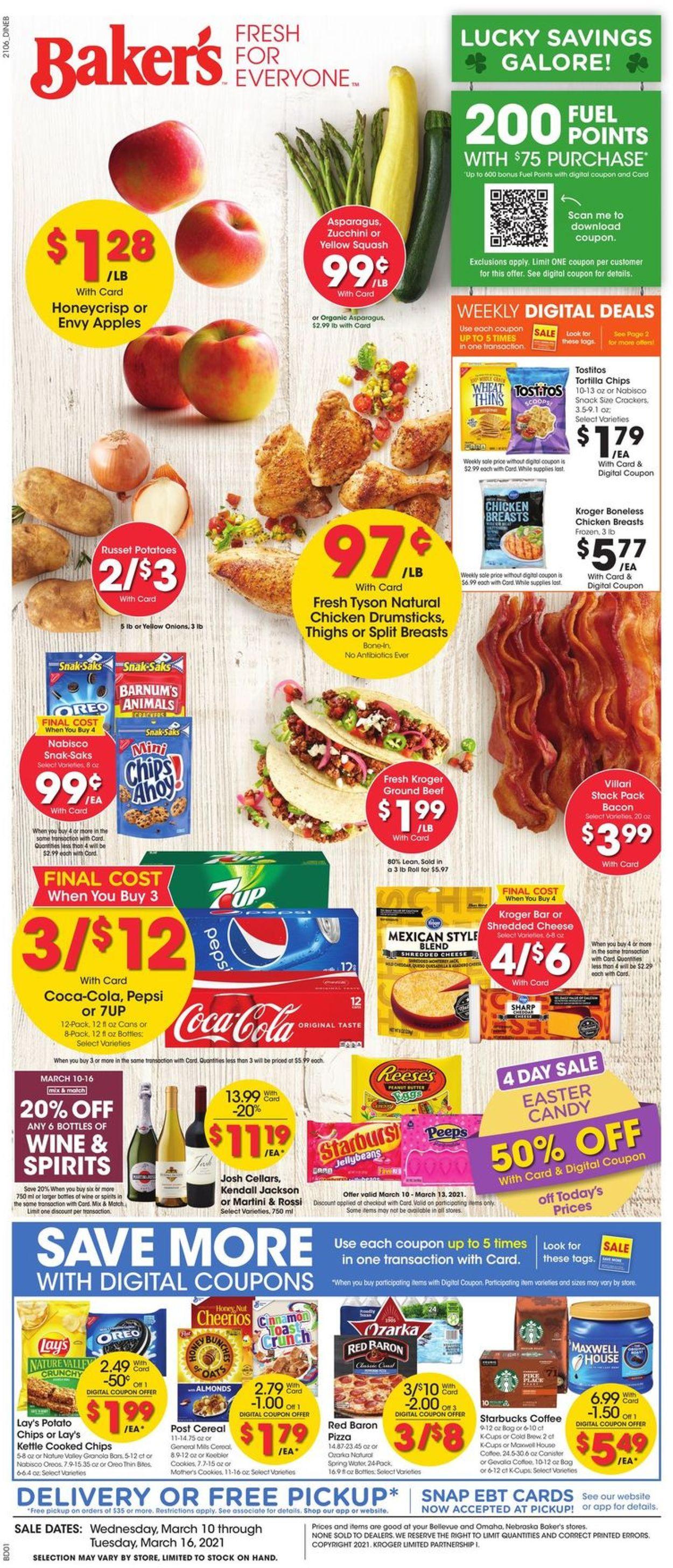 Baker's Weekly Ad Circular - valid 03/10-03/16/2021