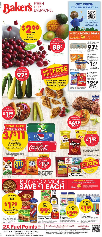 Baker's Weekly Ad Circular - valid 05/19-05/25/2021