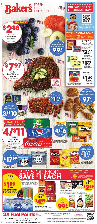 Baker's Weekly Ad Circular - valid 05/26-06/01/2021