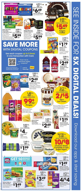 Baker's Weekly Ad Circular - valid 07/21-07/27/2021 (Page 2)