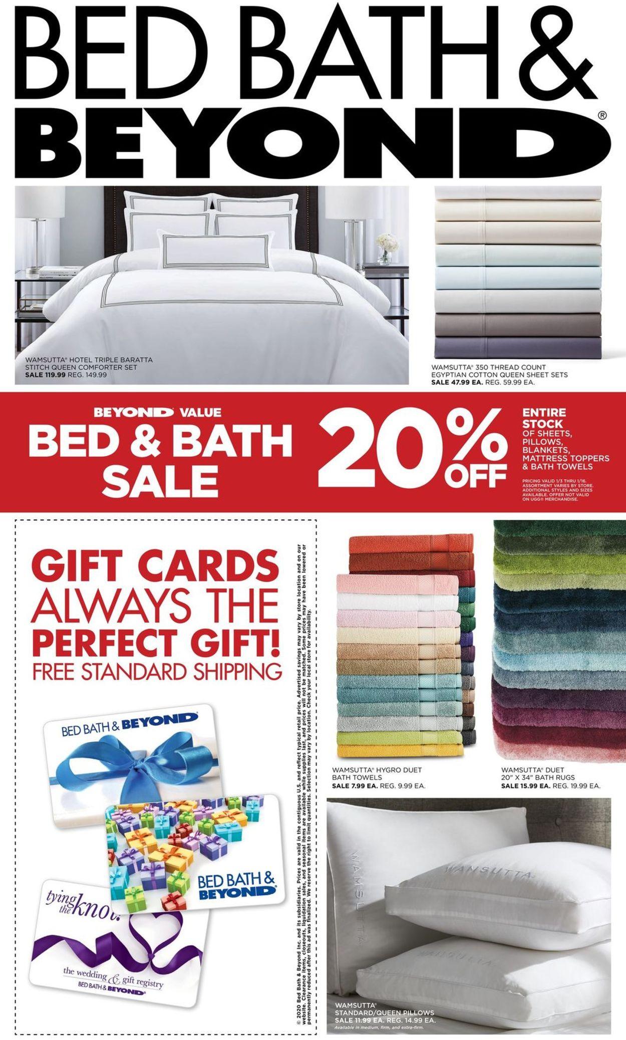 Bed Bath And Beyond Ad Circular 01 07 02 24 2020 Rabato