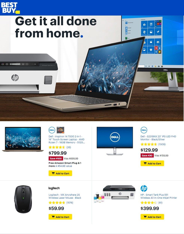 Best Buy Weekly Ad Circular - valid 07/24-07/30/2020