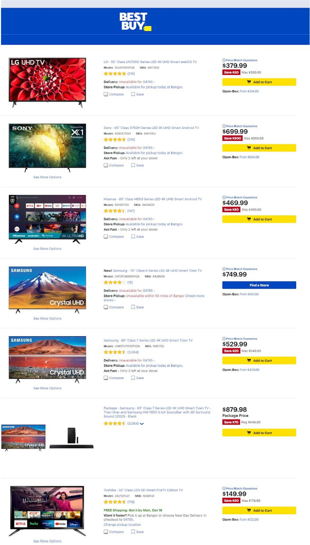Best Buy Weekly Ad Circular - valid 10/16-10/22/2020