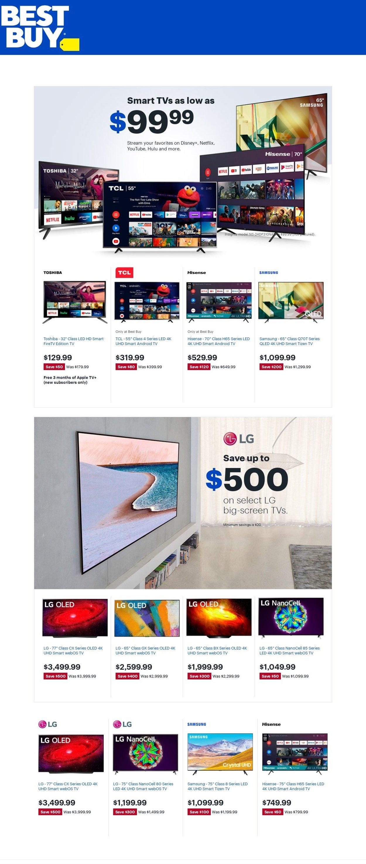 Best Buy Weekly Ad Circular - valid 01/01-01/07/2021