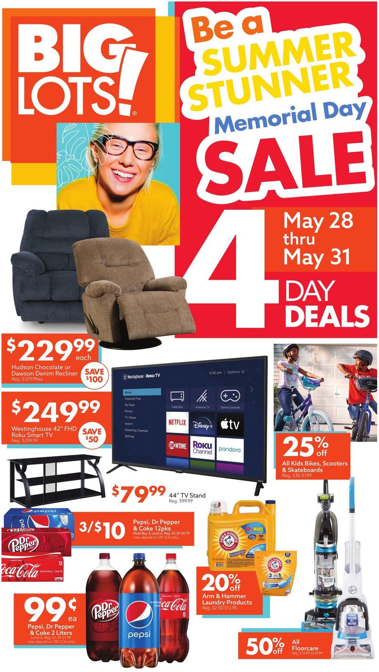 Big Lots Weekly Ad Circular - valid 05/22-06/05/2021