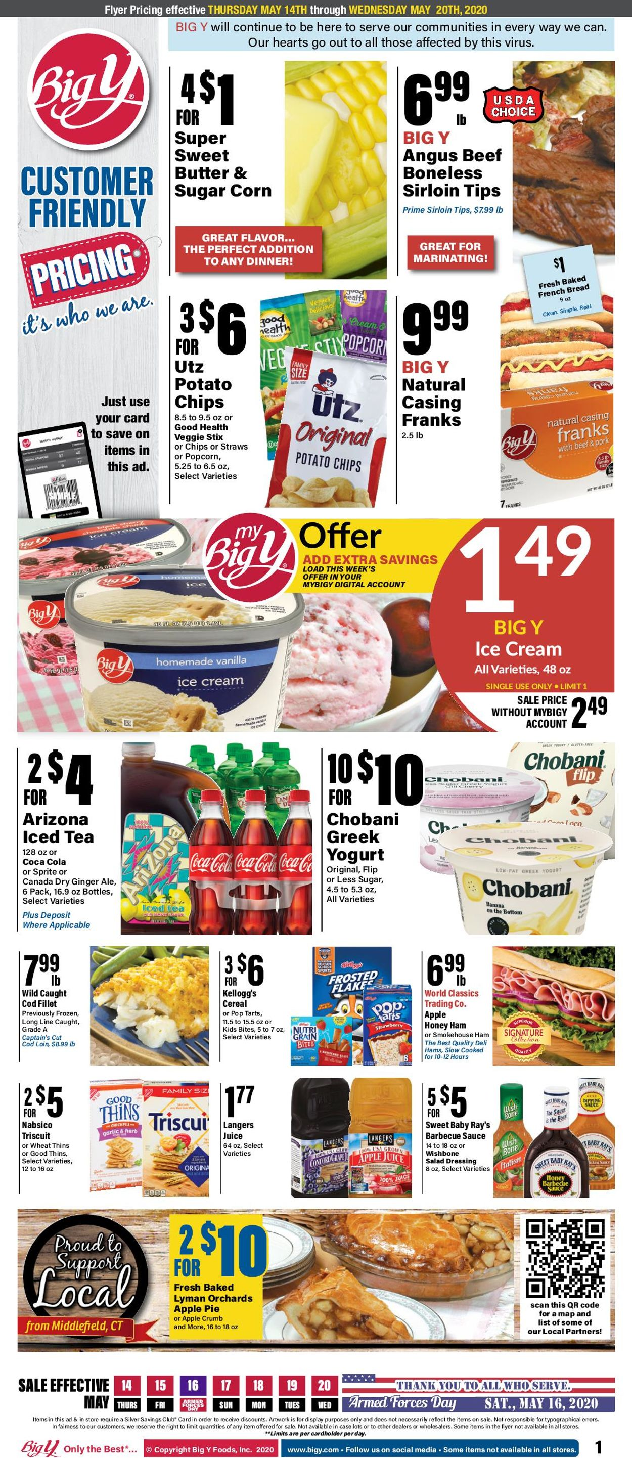 Big Y Weekly Ad Circular - valid 05/14-05/20/2020