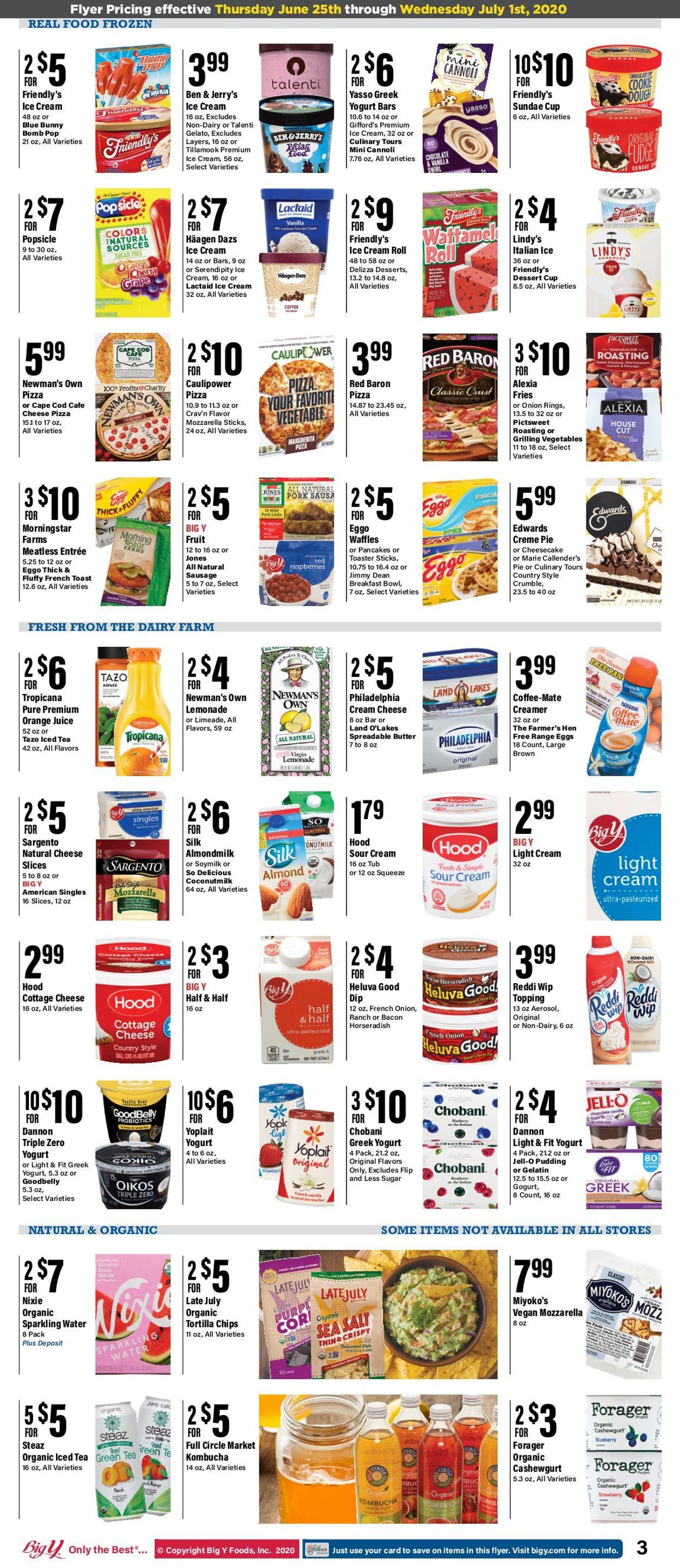Big Y Weekly Ad Circular - valid 06/25-07/01/2020 (Page 3)