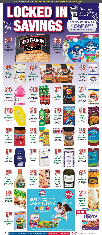 Big Y Weekly Ad Circular - valid 01/14-02/18/2021