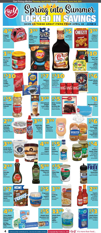 Big Y Weekly Ad Circular - valid 04/22-06/02/2021