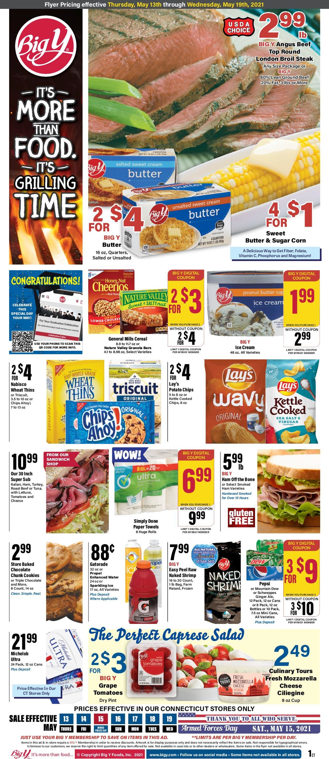 Big Y Weekly Ad Circular - valid 05/13-05/19/2021
