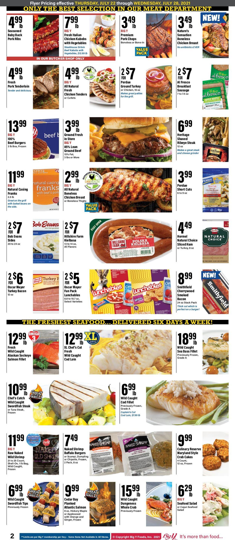 Big Y Weekly Ad Circular - valid 07/22-07/28/2021 (Page 2)