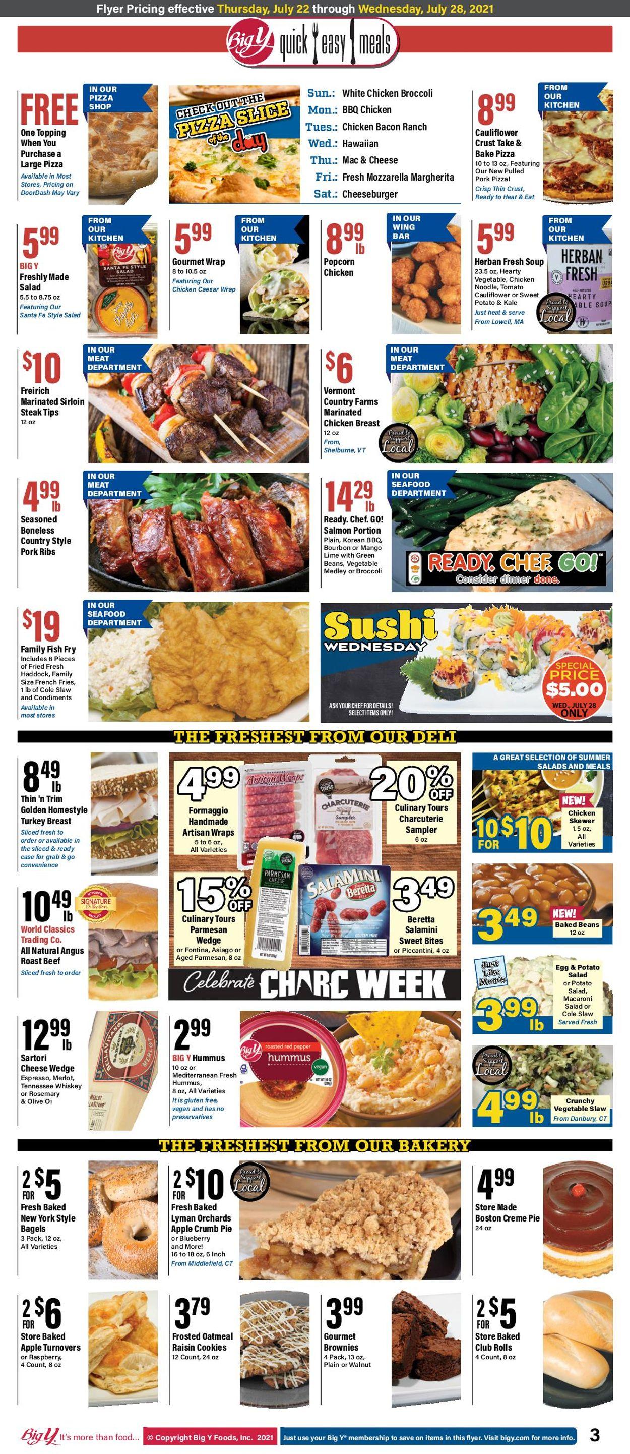 Big Y Weekly Ad Circular - valid 07/22-07/28/2021 (Page 3)