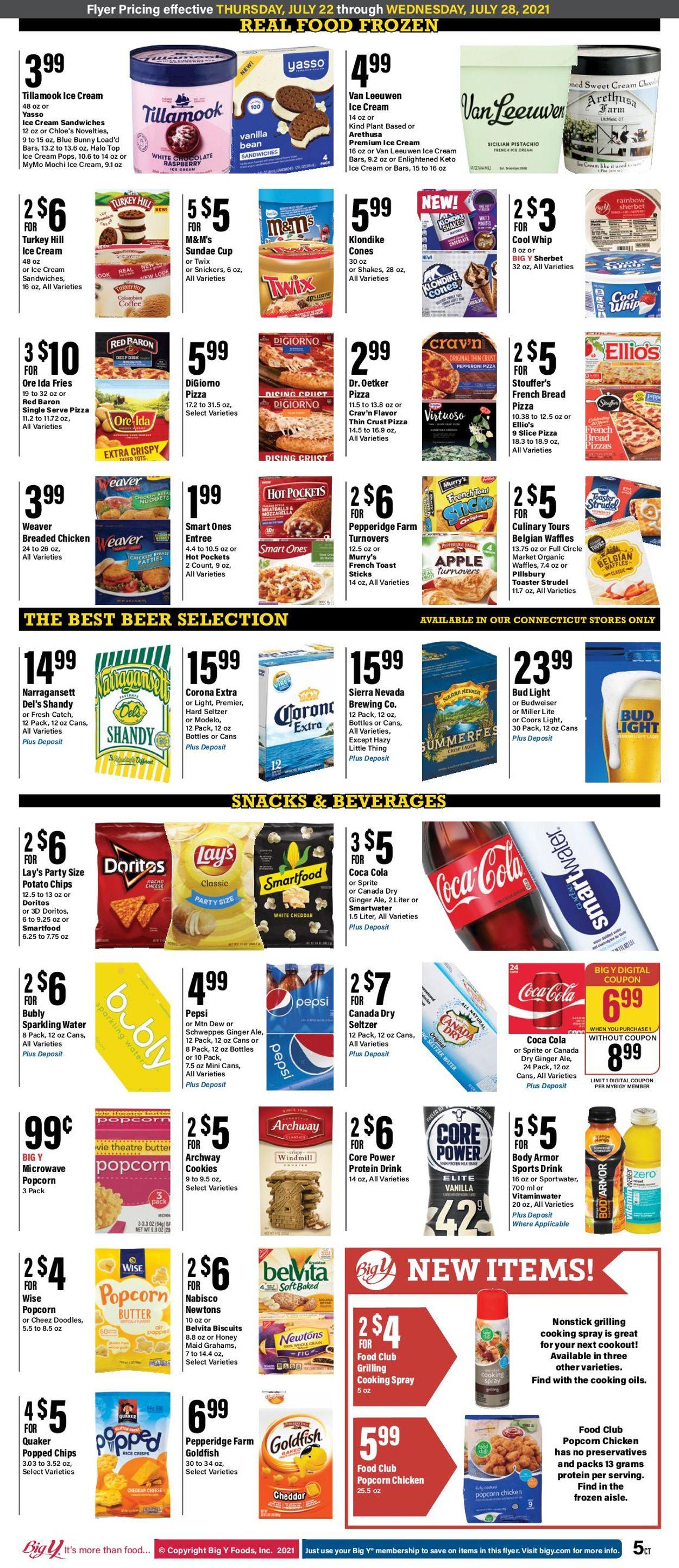 Big Y Weekly Ad Circular - valid 07/22-07/28/2021 (Page 8)