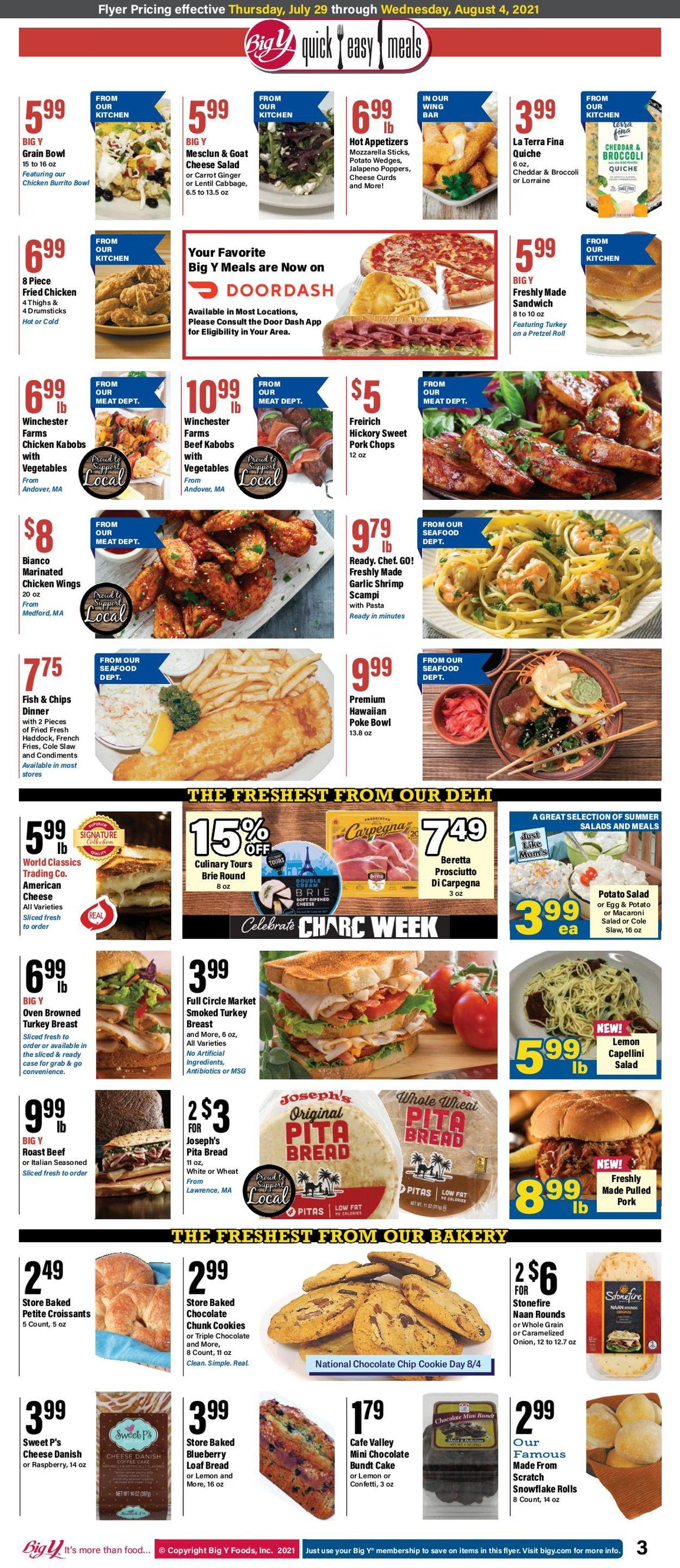 Big Y Weekly Ad Circular - valid 07/29-08/04/2021 (Page 3)