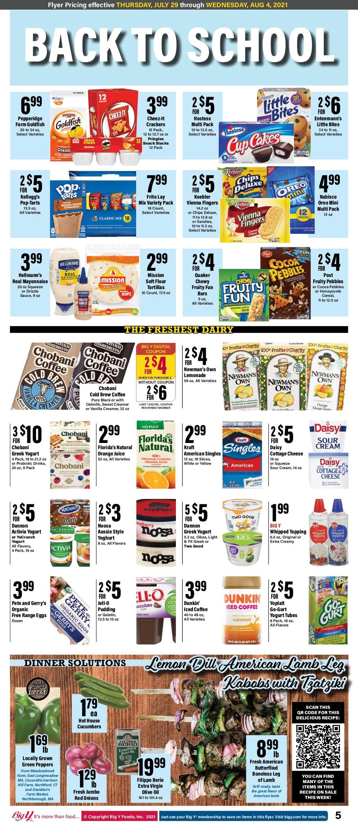 Big Y Weekly Ad Circular - valid 07/29-08/04/2021 (Page 6)