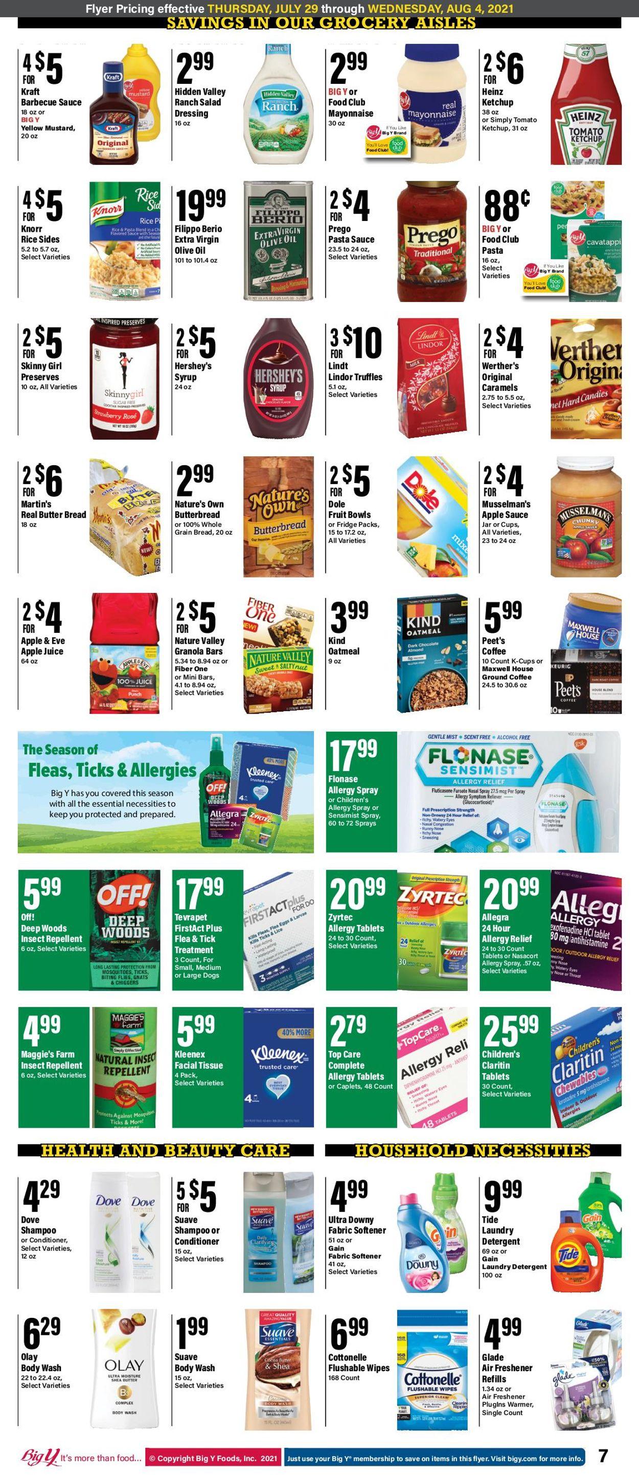 Big Y Weekly Ad Circular - valid 07/29-08/04/2021 (Page 8)