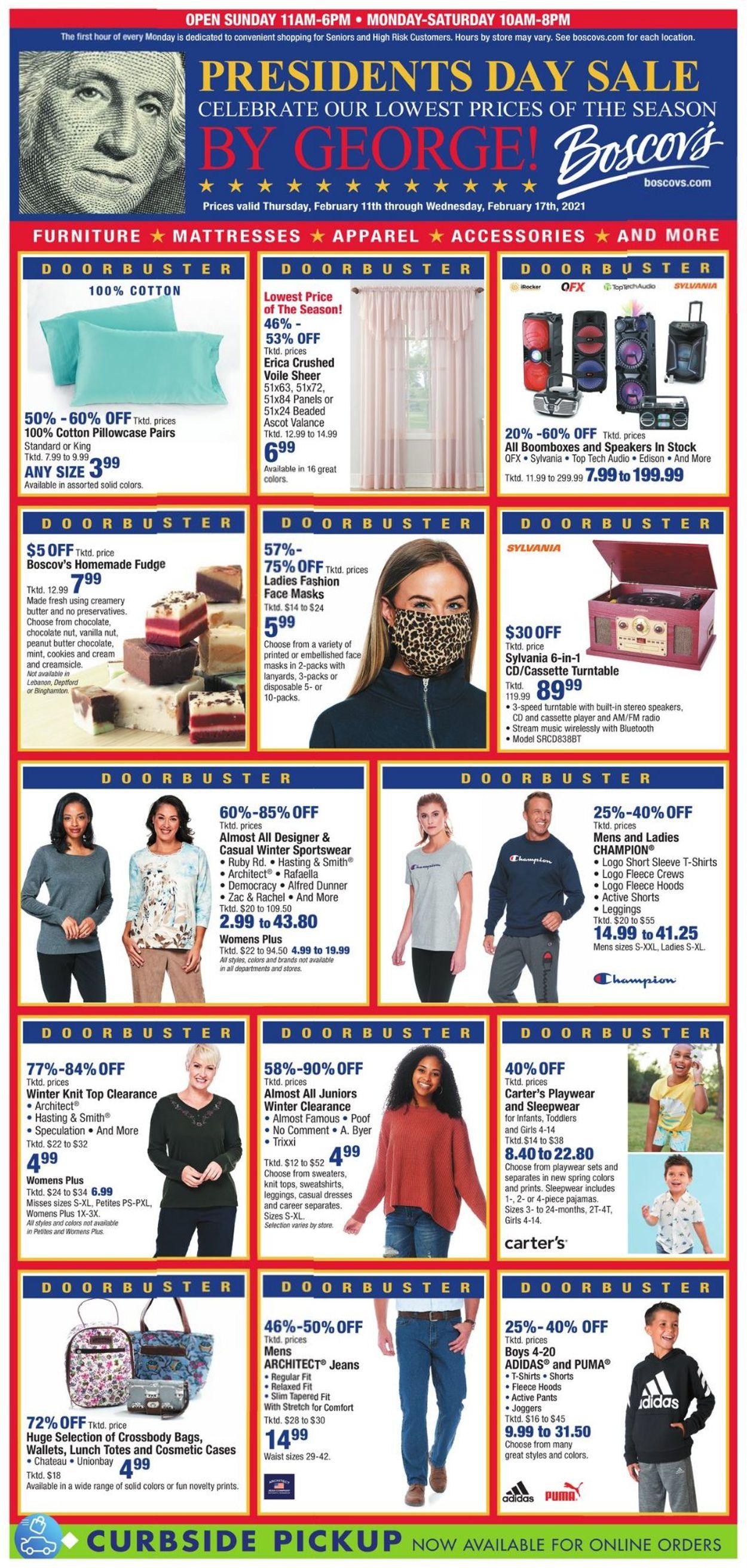 Boscov's Weekly Ad Circular - valid 02/14-02/17/2021