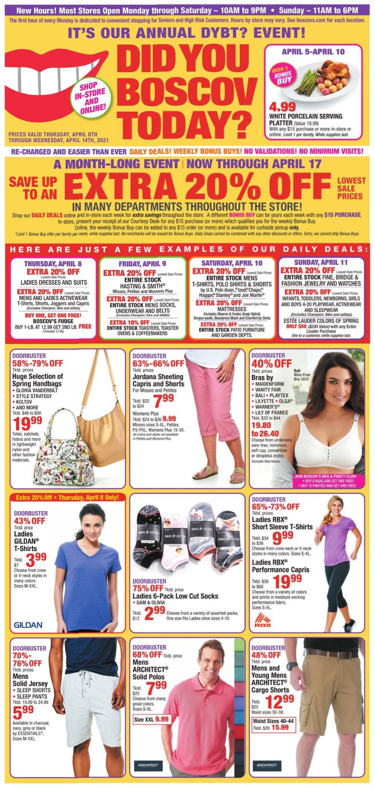 Boscov's Weekly Ad Circular - valid 04/08-04/14/2021