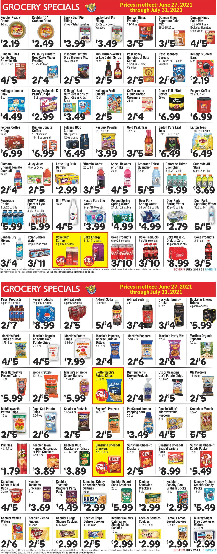 Boyer's Food Markets Weekly Ad Circular - valid 06/27-09/25/2021 (Page 7)