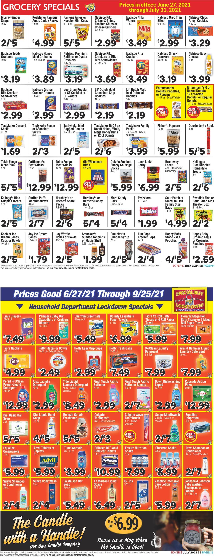 Boyer's Food Markets Weekly Ad Circular - valid 06/27-09/25/2021 (Page 8)