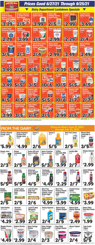 Boyer's Food Markets Weekly Ad Circular - valid 06/27-09/25/2021 (Page 11)