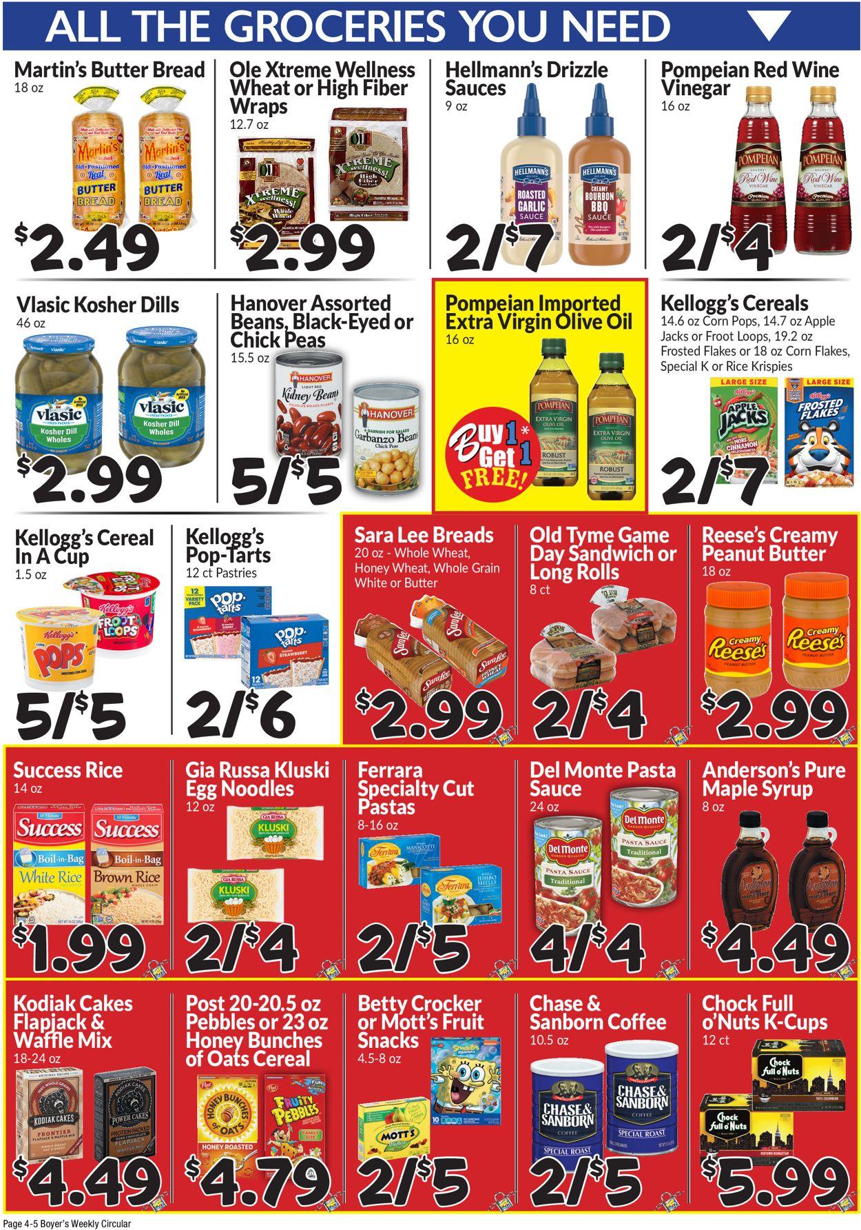 Boyer's Food Markets Weekly Ad Circular - valid 07/18-07/24/2021 (Page 6)