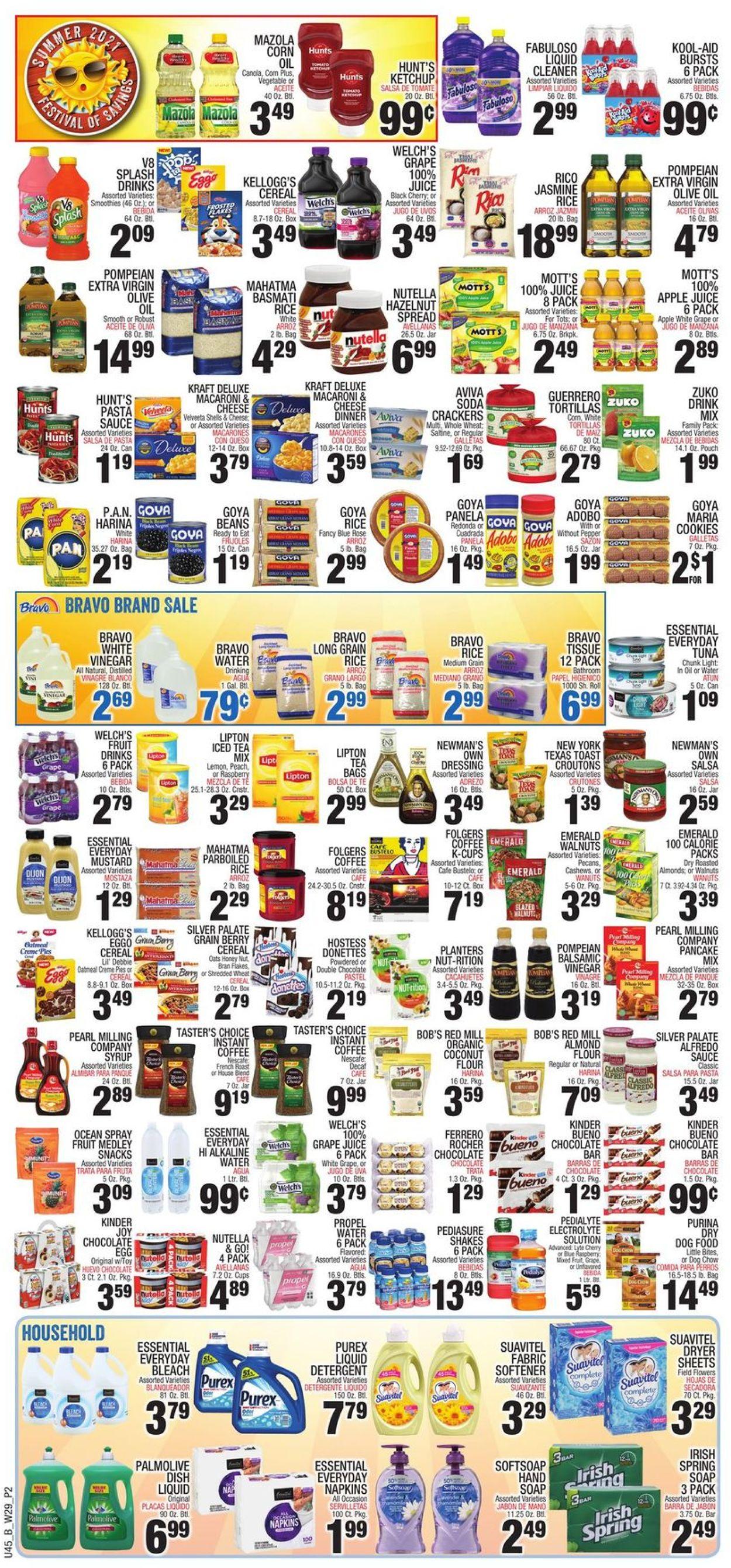 Bravo Supermarkets Weekly Ad Circular - valid 07/15-07/21/2021 (Page 2)