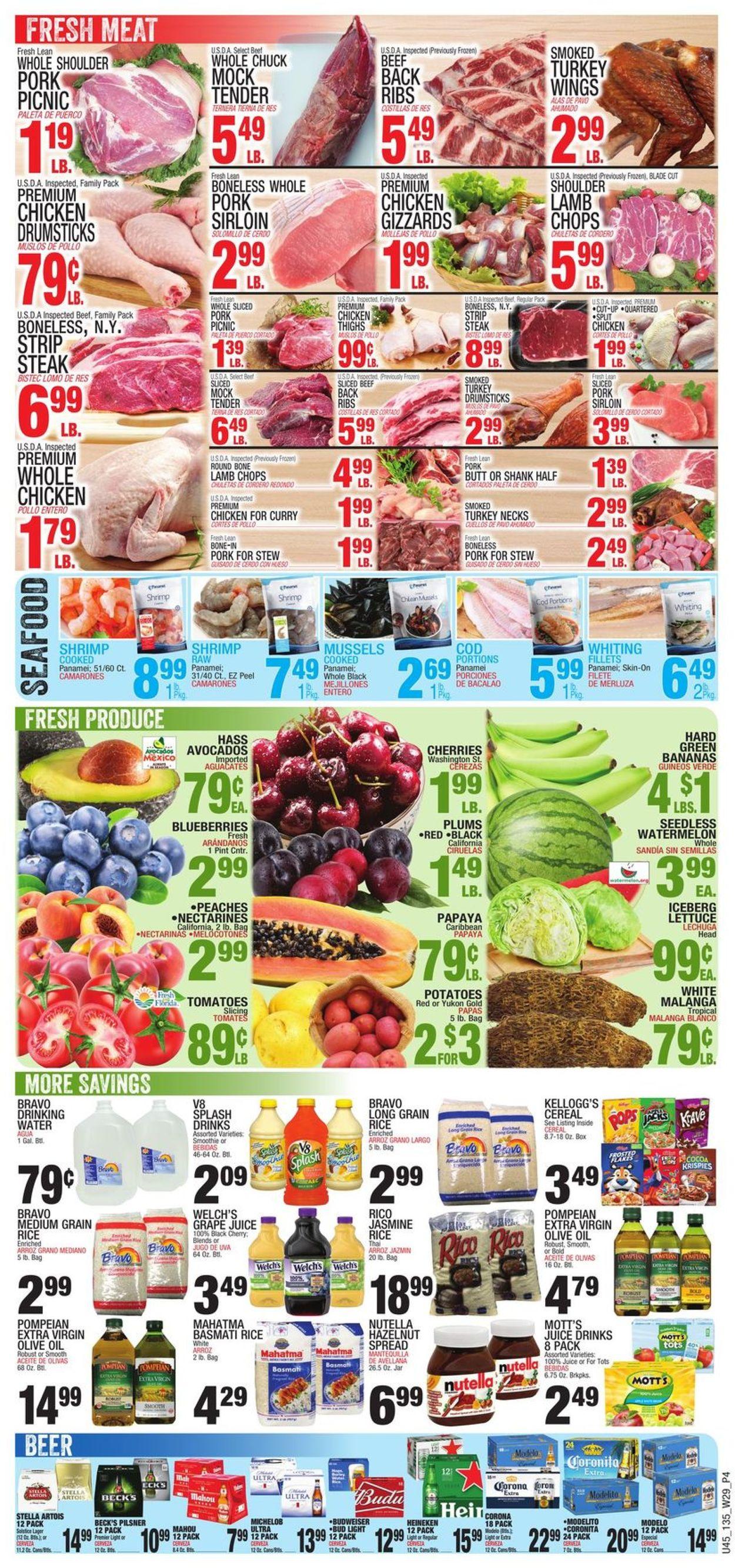 Bravo Supermarkets Weekly Ad Circular - valid 07/15-07/21/2021 (Page 4)