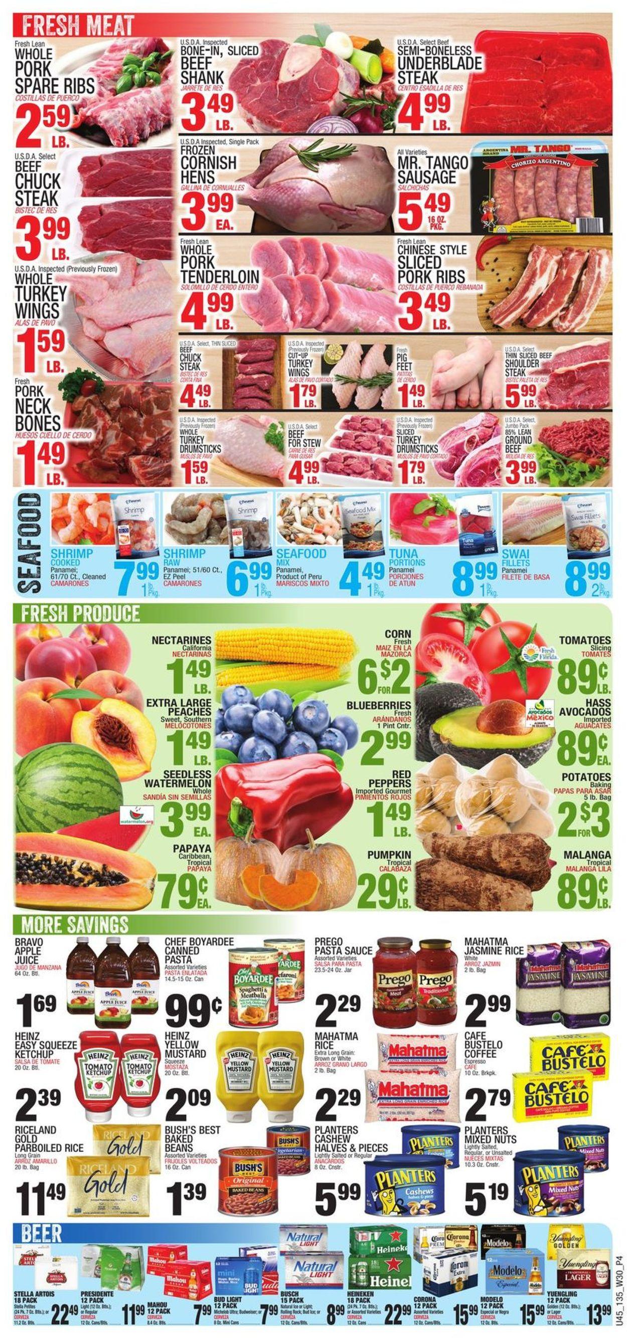 Bravo Supermarkets Weekly Ad Circular - valid 07/22-07/28/2021 (Page 4)