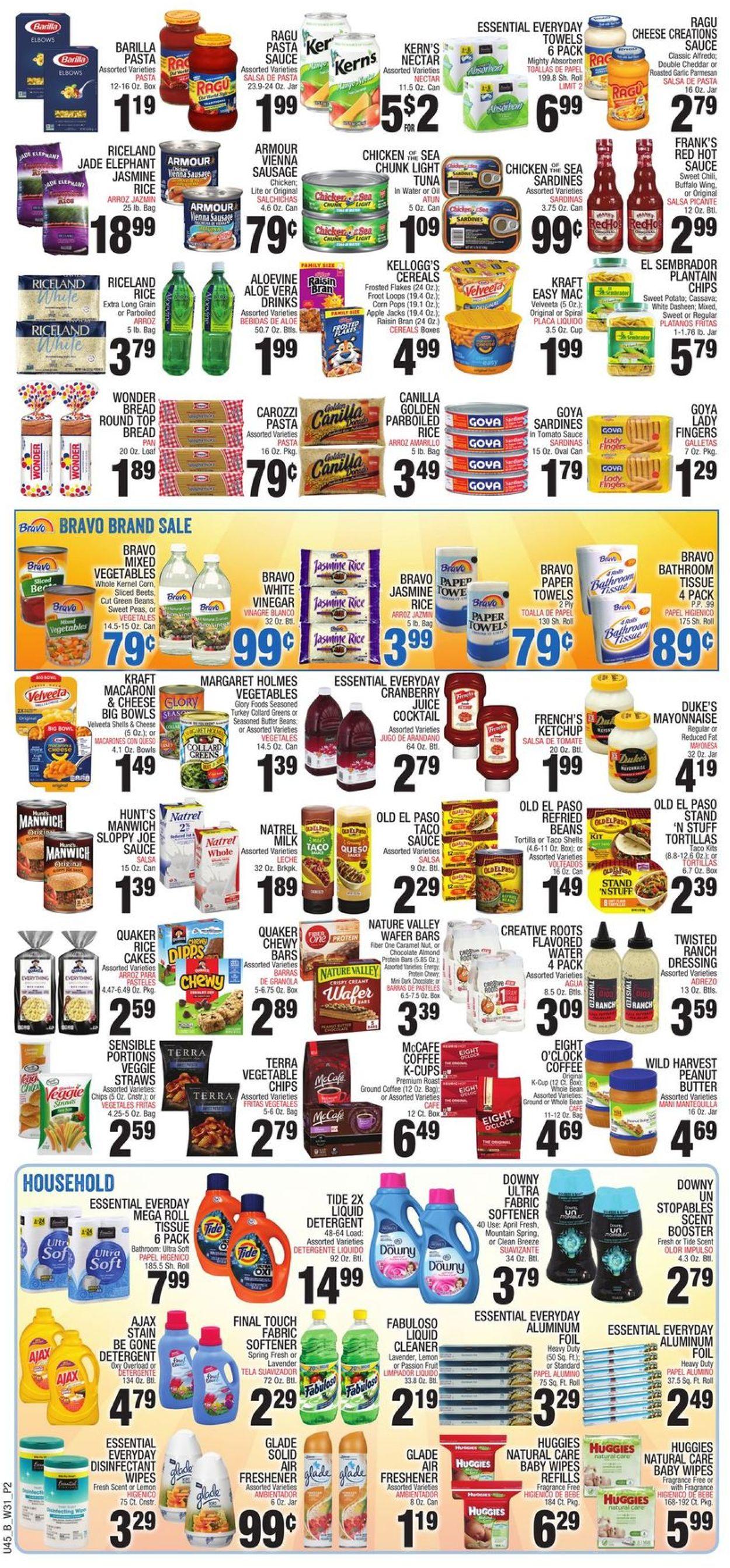 Bravo Supermarkets Weekly Ad Circular - valid 07/29-08/04/2021 (Page 2)