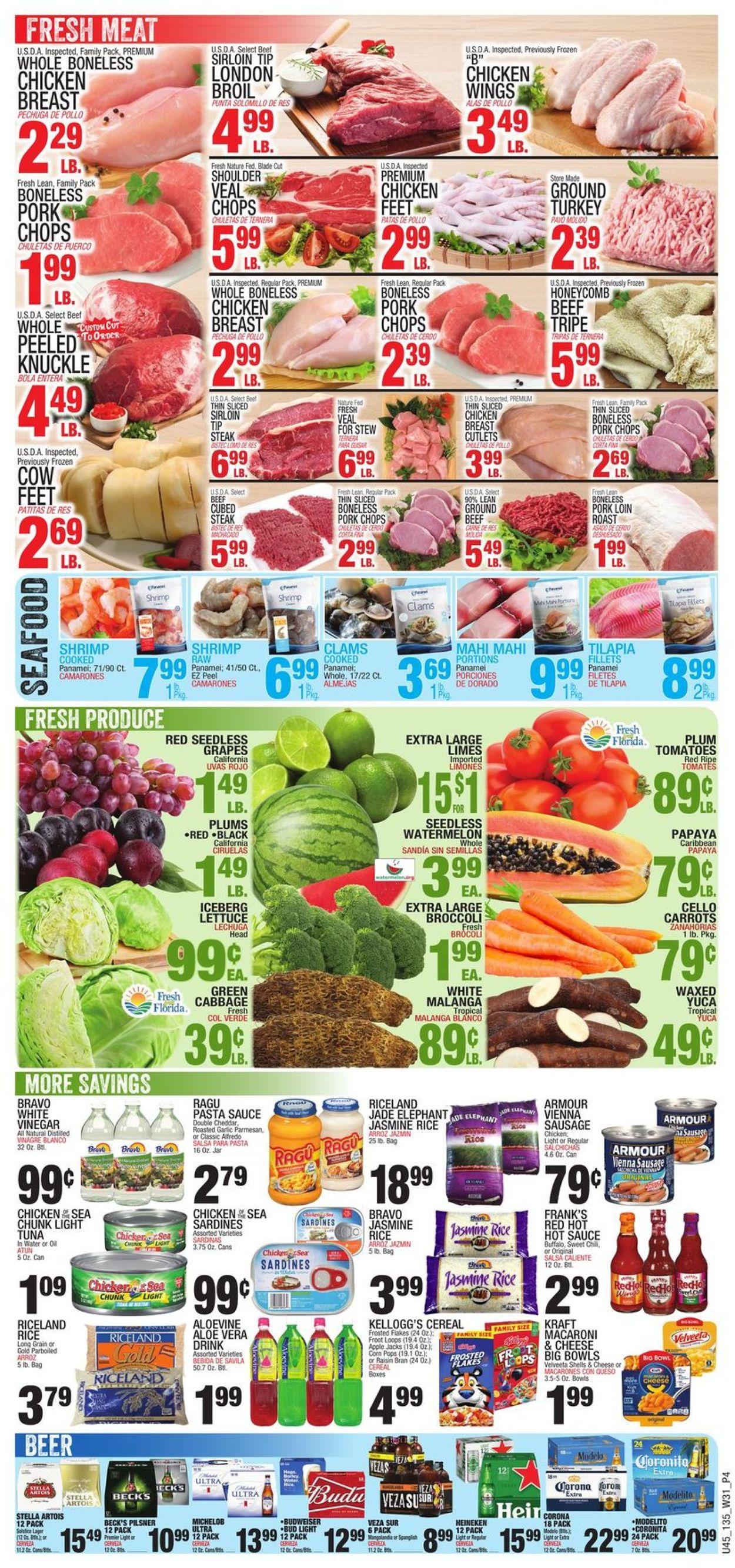 Bravo Supermarkets Weekly Ad Circular - valid 07/29-08/04/2021 (Page 4)