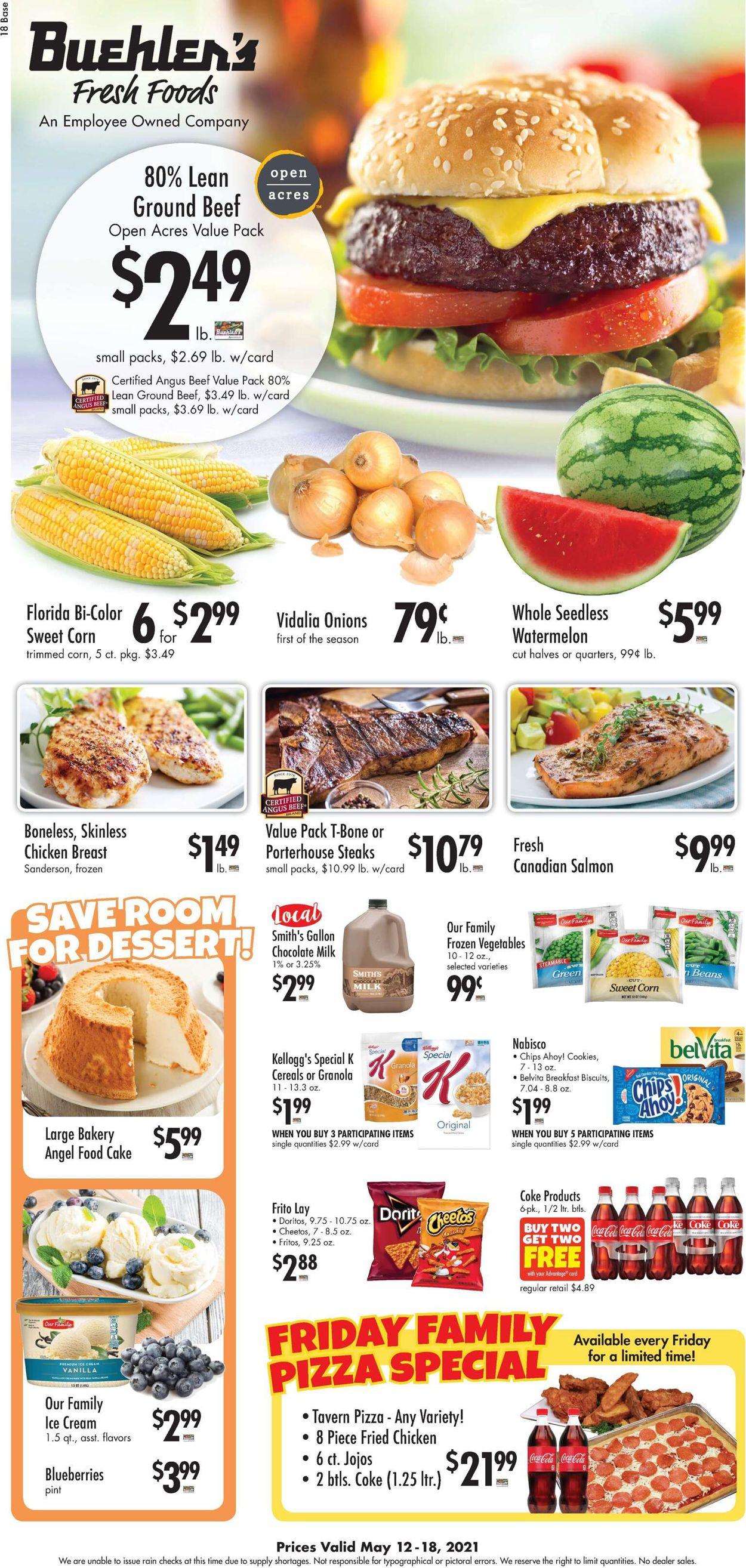 Buehler's Fresh Foods Weekly Ad Circular - valid 05/12-05/18/2021