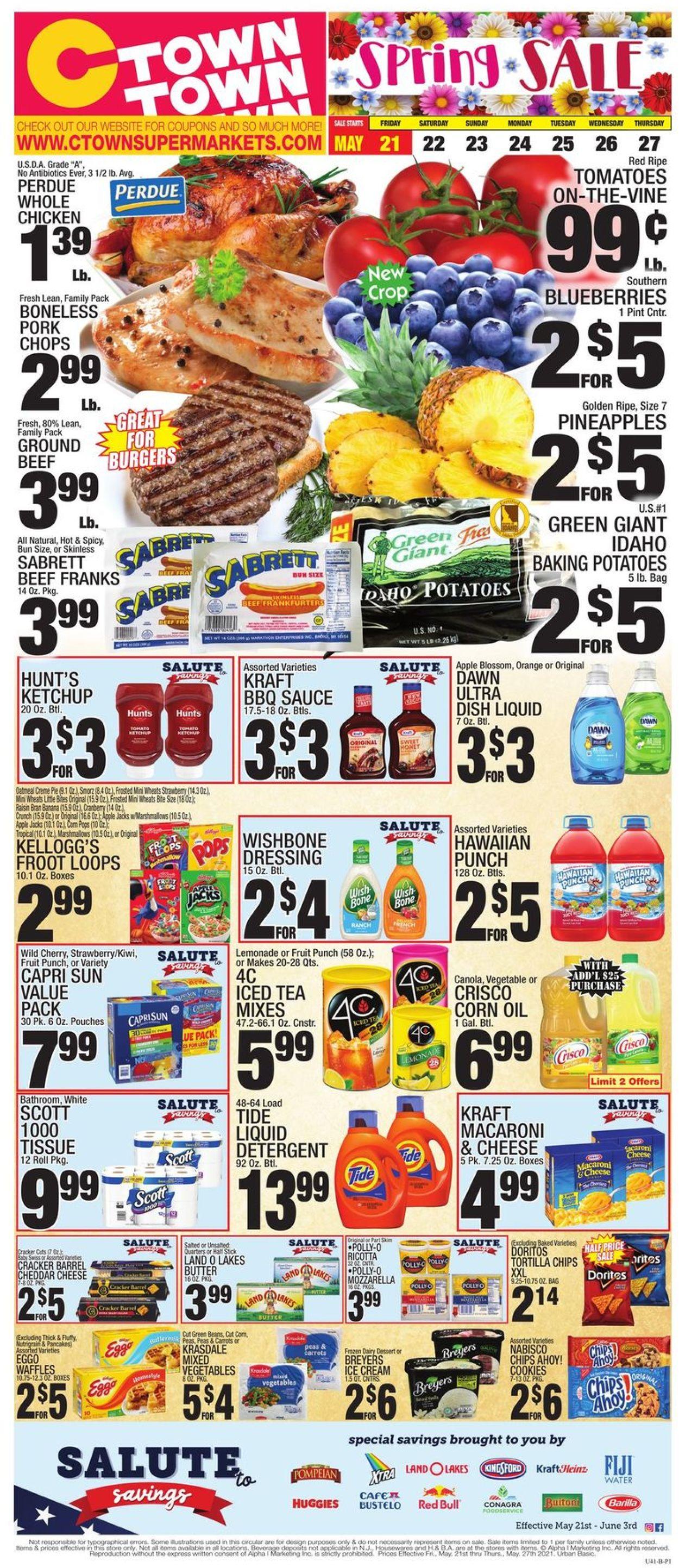 C-Town Weekly Ad Circular - valid 05/21-05/27/2021