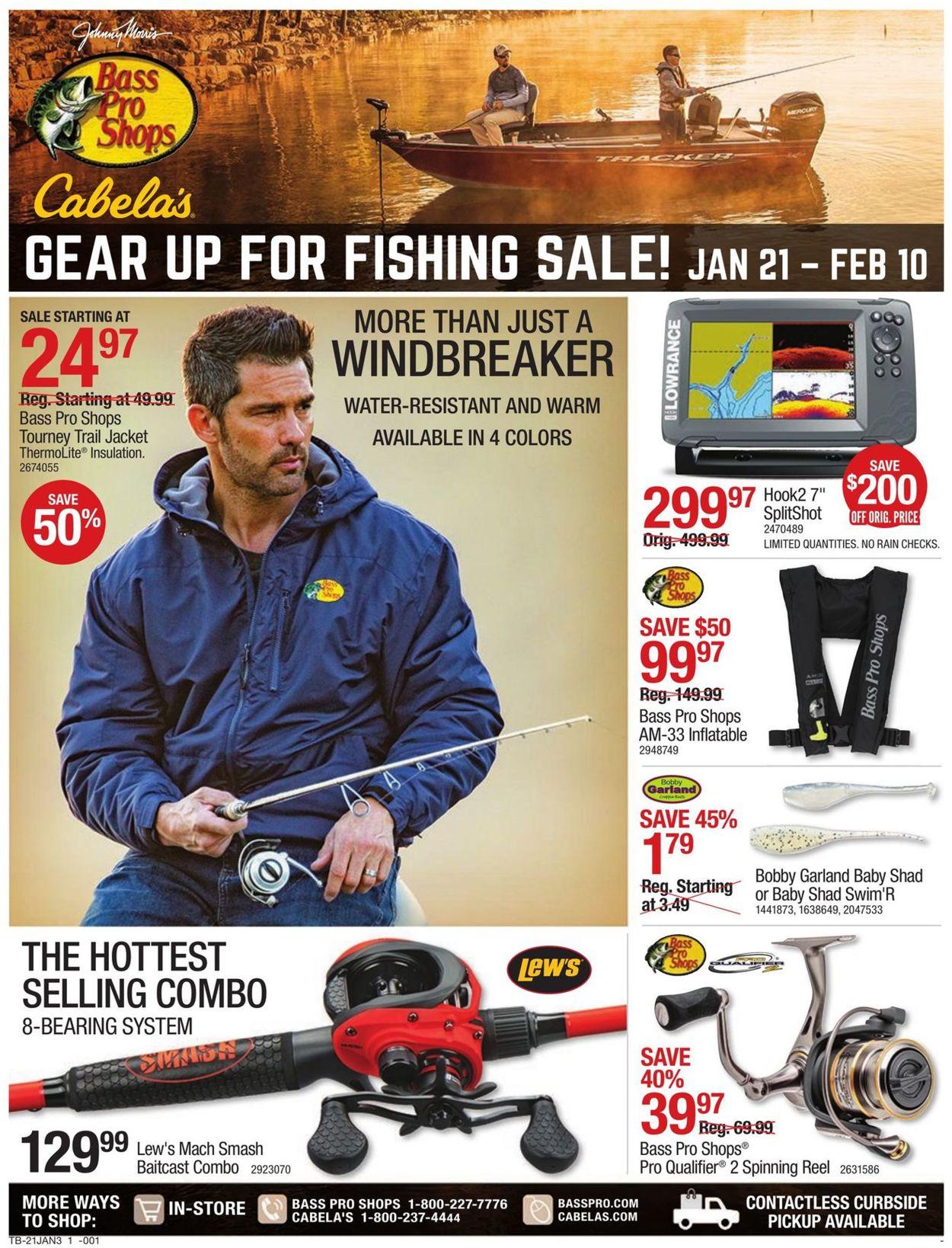 Cabela's Fishing Sale 2021 Weekly Ad Circular - valid 01/21-02/10/2021