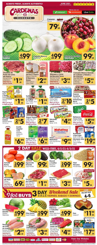Cardenas Weekly Ad Circular - valid 06/02-06/08/2021