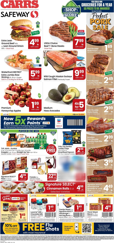 Carrs Weekly Ad Circular - valid 09/16-09/22/2020