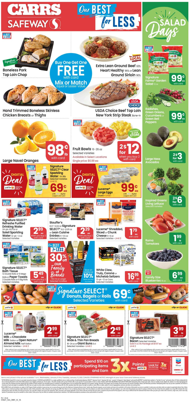 Carrs Weekly Ad Circular - valid 01/06-01/12/2021