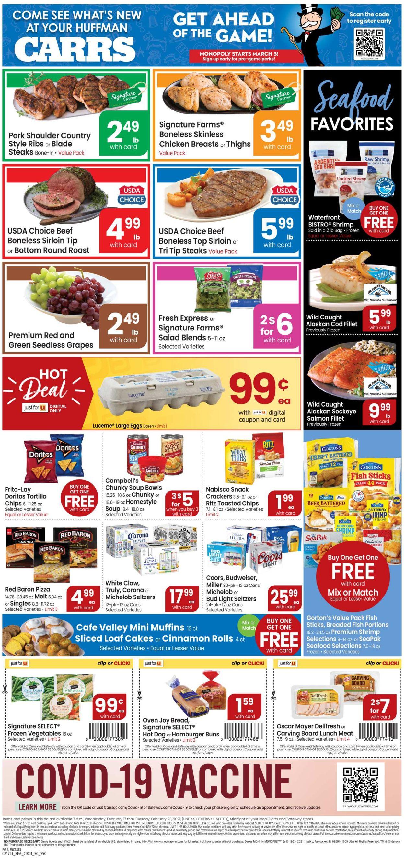 Carrs Weekly Ad Circular - valid 02/17-02/23/2021