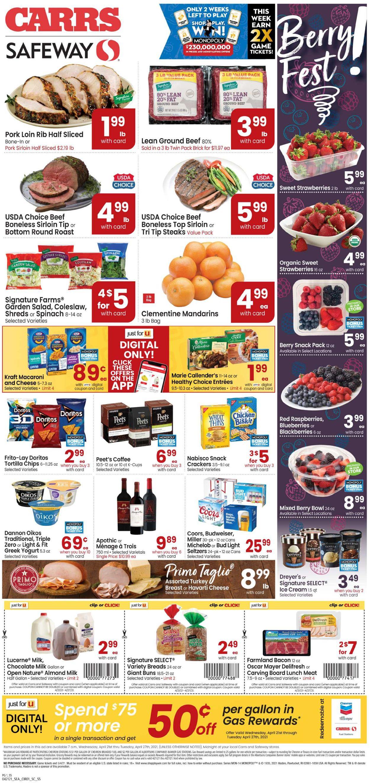 Carrs Weekly Ad Circular - valid 04/21-04/27/2021