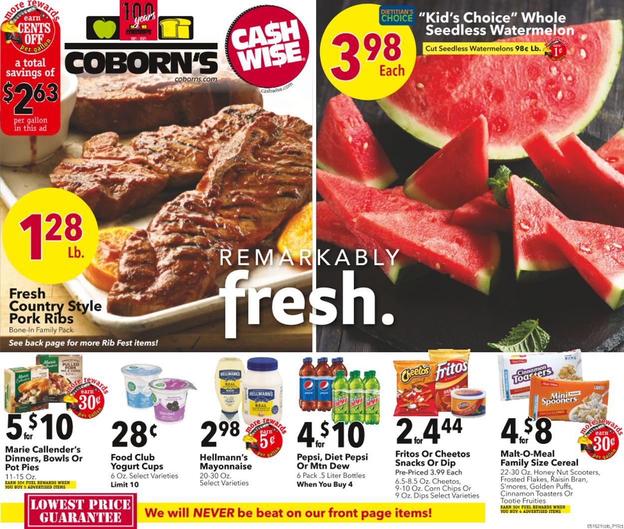 Cash Wise Weekly Ad Circular - valid 05/19-05/25/2021