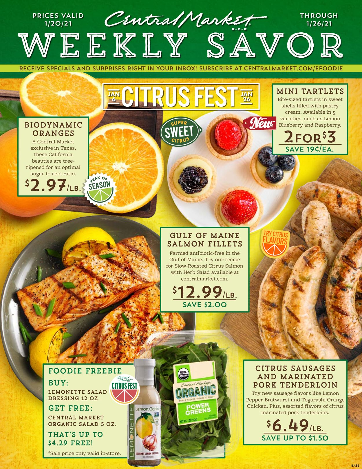 Central Market Weekly Ad Circular - valid 01/20-01/26/2021